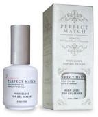 PERFECT MATCH - PMT02 High Gloss Top Gel Sealer 0.5 oz