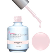 PERFECT MATCH Gel Polish + Lacquer - PMS08 PINK RIBBON