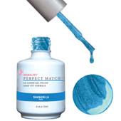 PERFECT MATCH Gel Polish + Lacquer - PMS67 SHANGRI-LA