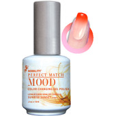 LeChat Mood Color Changing Gel Polish - MPMG03 Sunrise Sunset