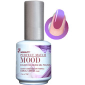 LeChat Mood Color Changing Gel Polish - MPMG11 Coral Caress