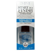 OPI Start-to-Finish Formaldehyde-Free Formula: Nail Strengthener .5 oz