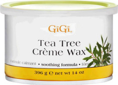 GIGI, #0240 Tea Tree Creme Wax 14 oz