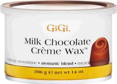 GIGI, #0251 Milk Chocolate Creme Wax 14oz