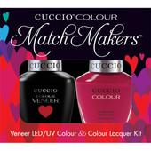 Cuccio Match Makers - #6016 Heart and Seoul