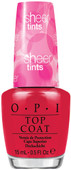 OPI Top Coat, NTS02 Be Magentale with me 0.5 oz
