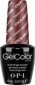 OPI GelColor - #GCC17 - Today I Accomplished Zero - Coke Collection (D) .5 oz
