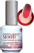 LeChat Mood Color Changing Gel Polish - MPMG34 Dark Rose