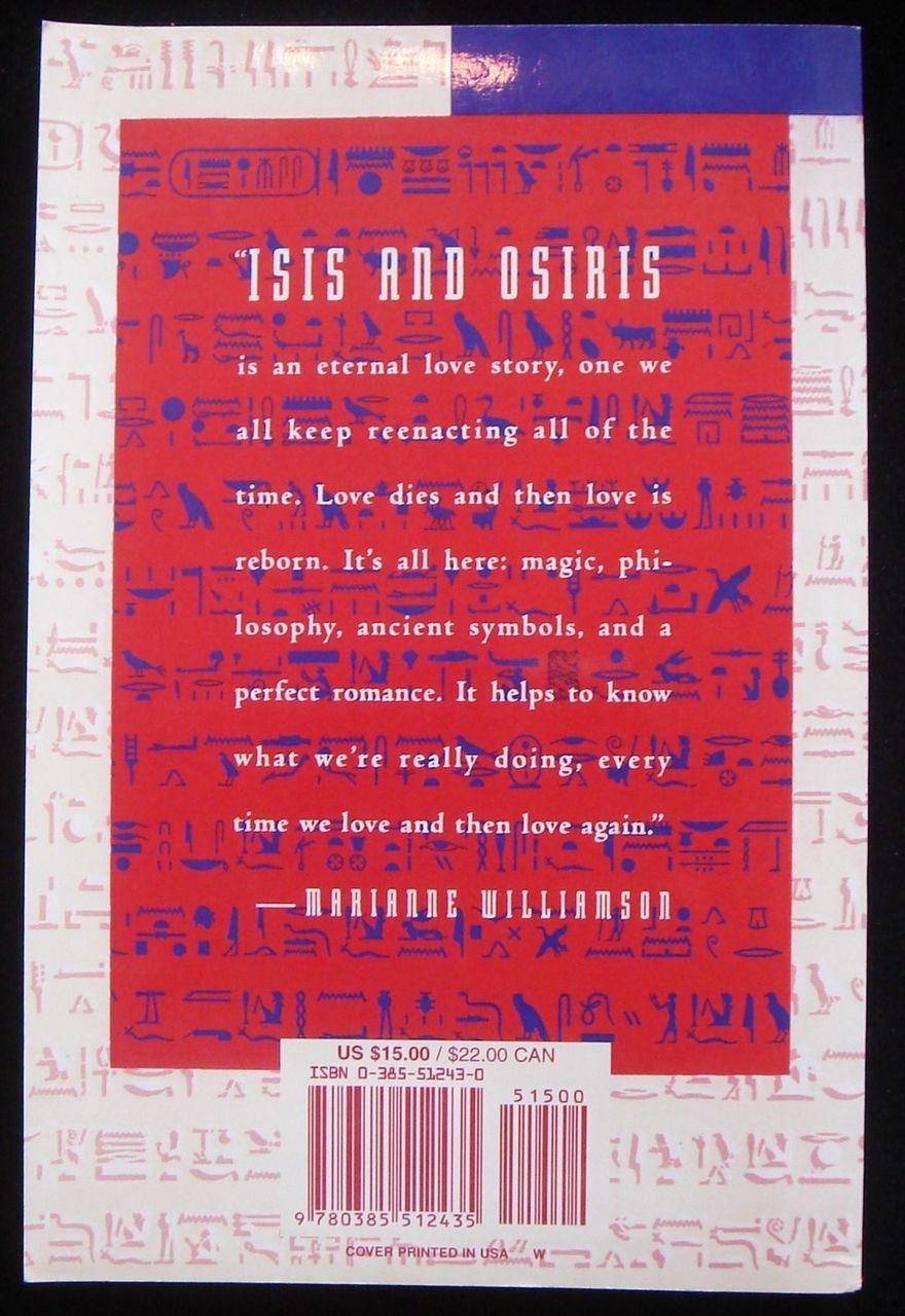 ISIS AND OSIRIS, by Jonathan Cott 1995 Goddess Myth Magic Ancient Symbols Scarce