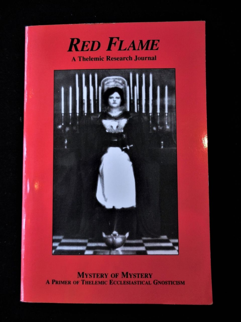 RED FLAME 2: MYSTERY OF MYSTERY: Primer of Thelemic Gnosticism 2001 Crowley OTO