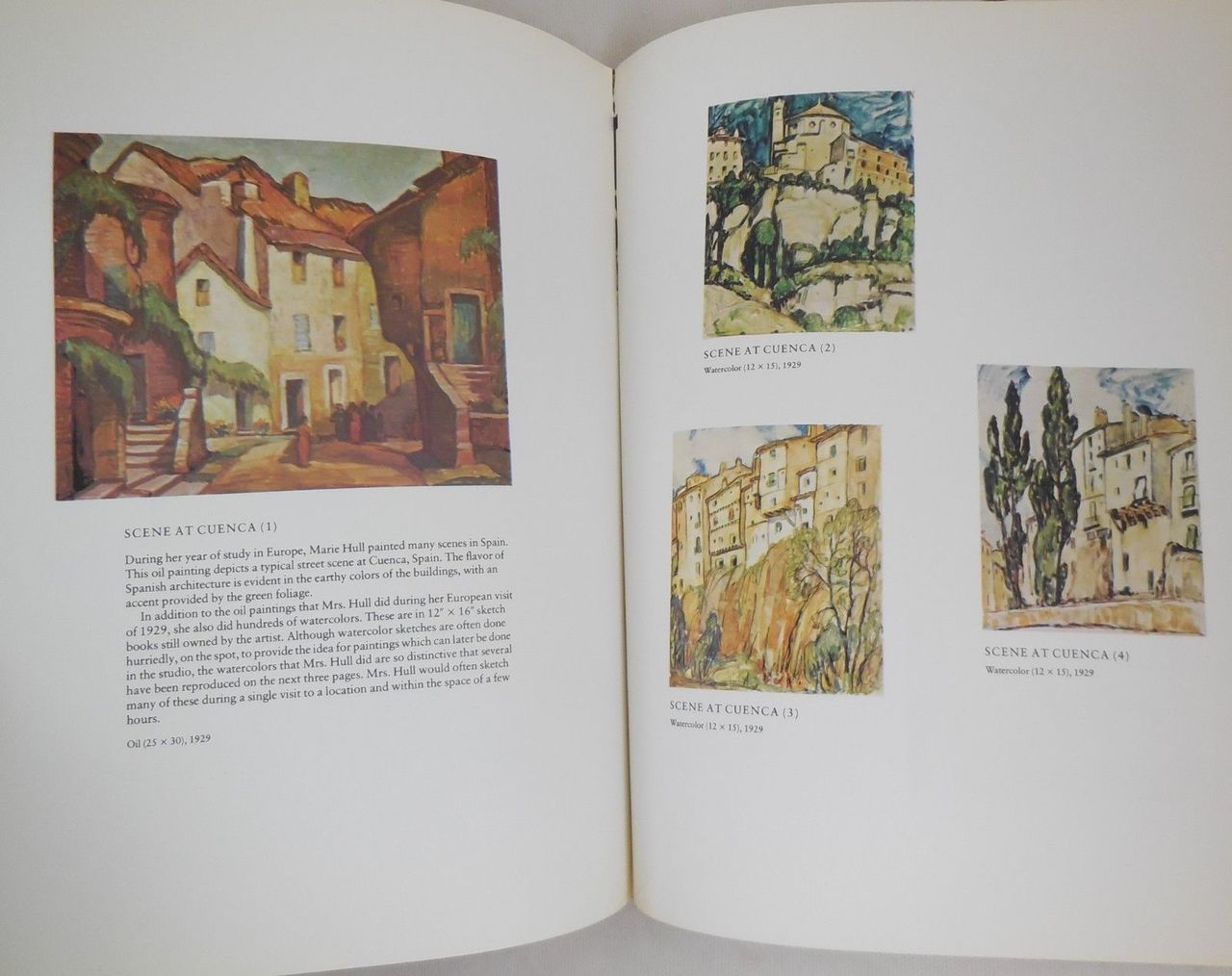 THE ART OF MARIE HULL - 1975 [1st Ed]