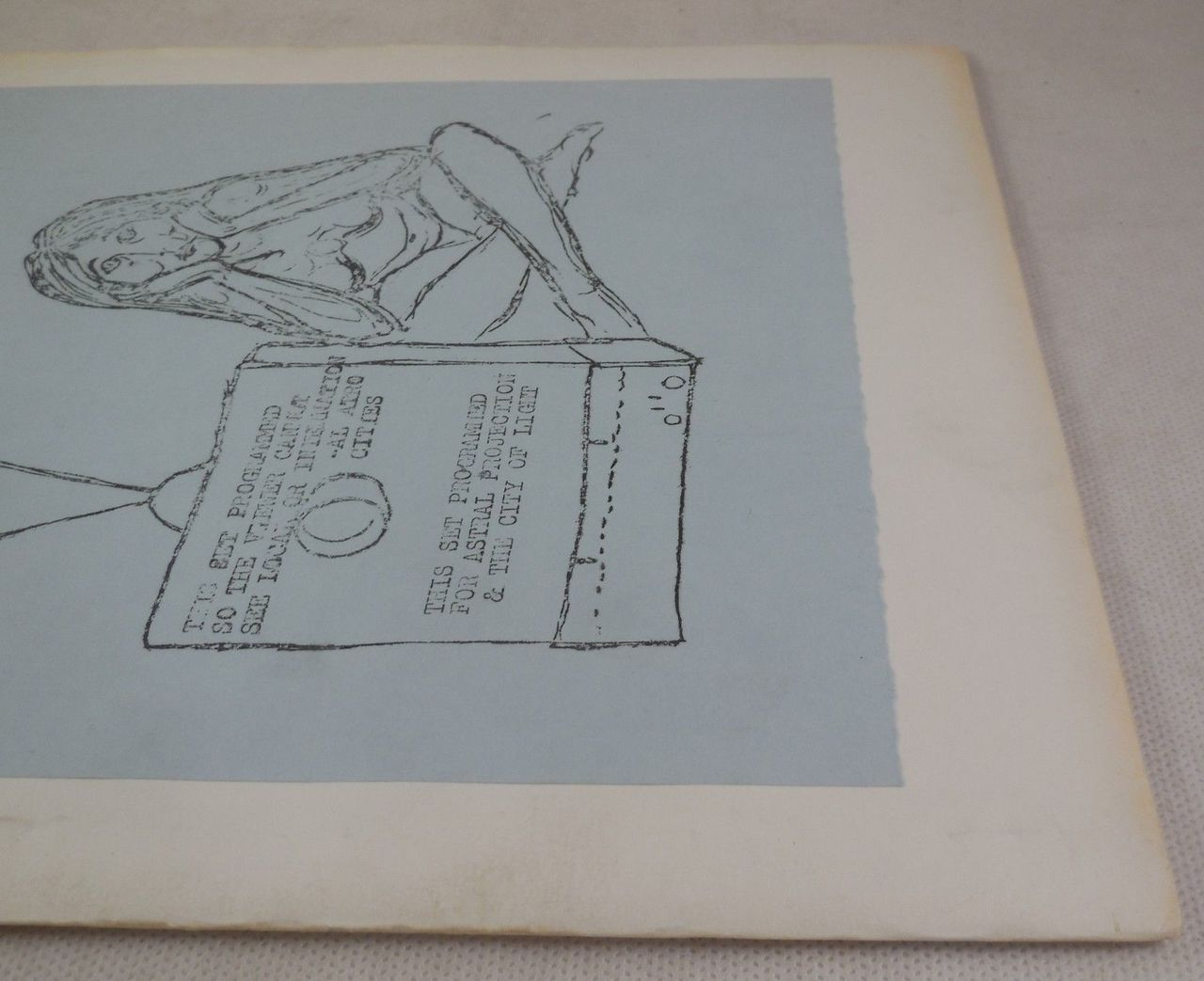 SUBURBAN MONASTERY DEATH POEM, D.A. Levy - 1968 Mimeograph Vintage Poetry