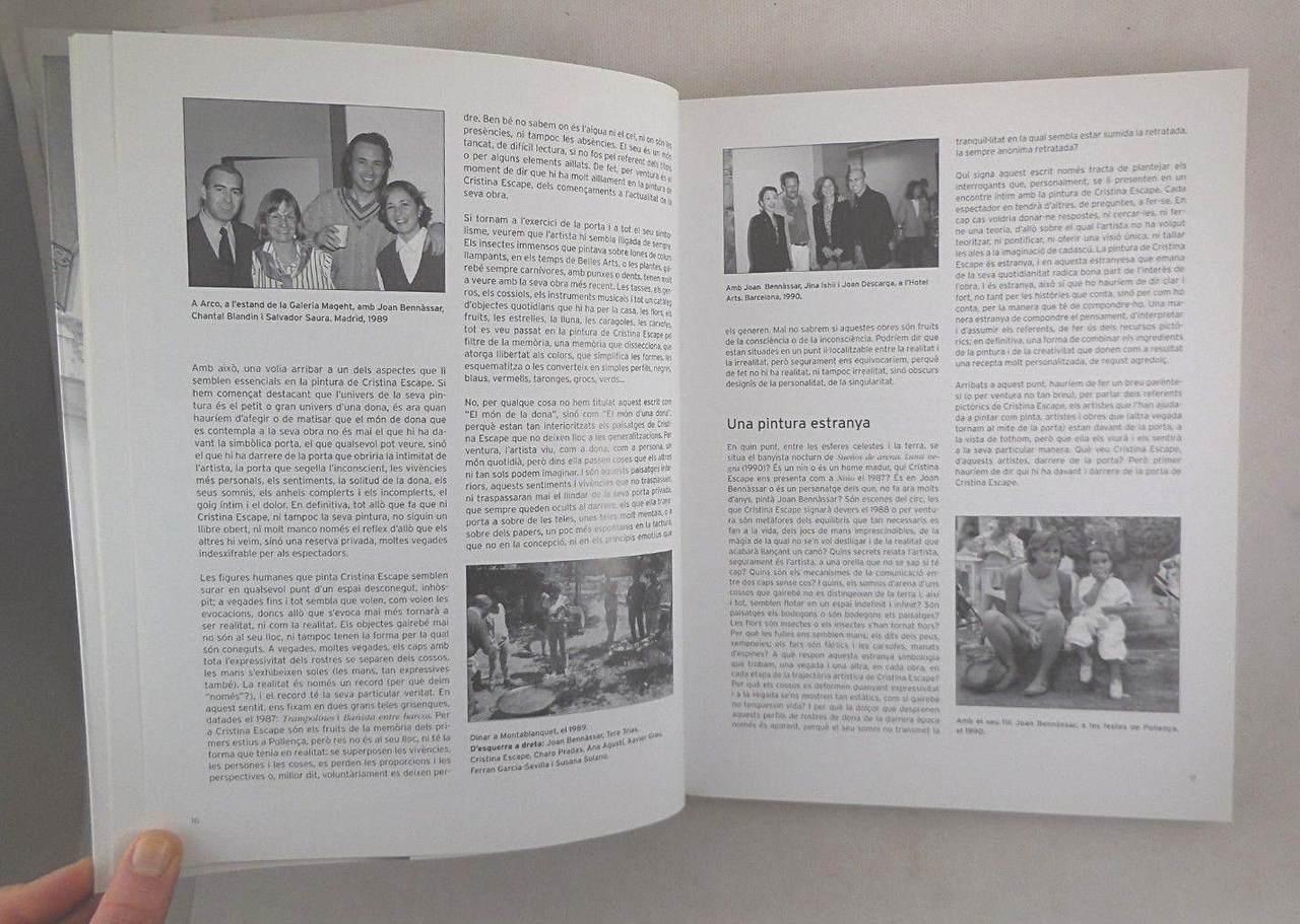 CRISTINA ESCAPE: OBRES 1985-2005, at Casal Solleric - 2005 [1st Ed]