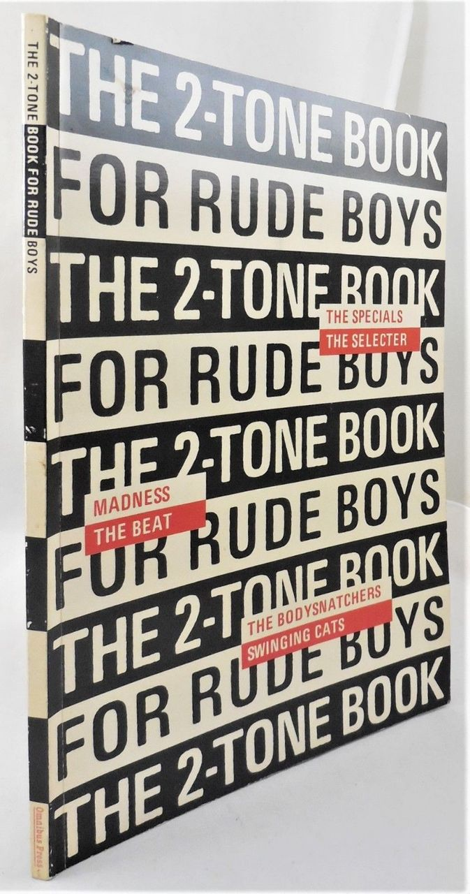 THE 2-TONE BOOK FOR RUDE BOYS, by Miles  - 1981