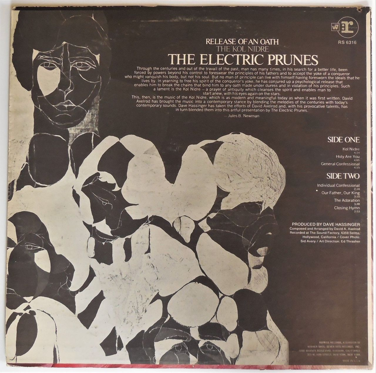 LP: The Electric Prunes on RELEASE OF AN OATH - 1968