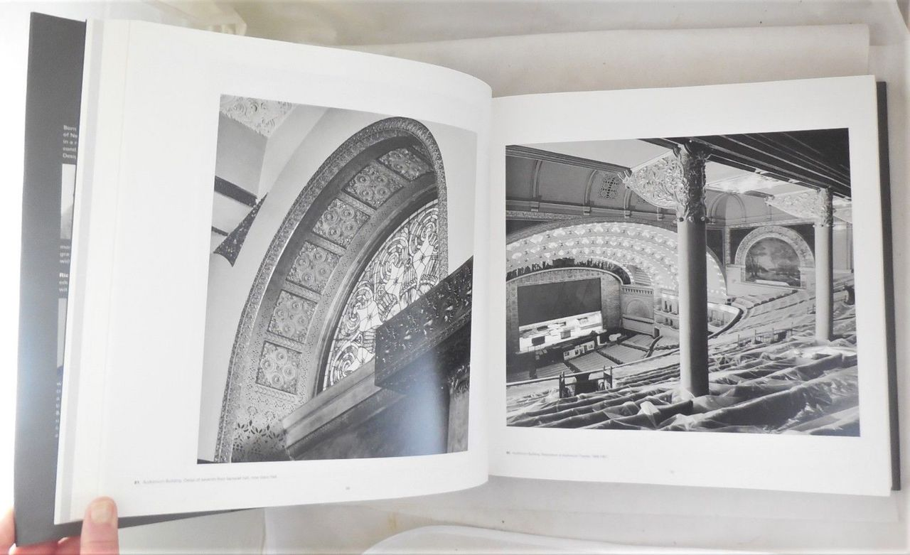 COMPLETE ARCHITECTURE OF ADLER & SULLIVAN, by Richard Nickel & Aaron Siskind - 2010