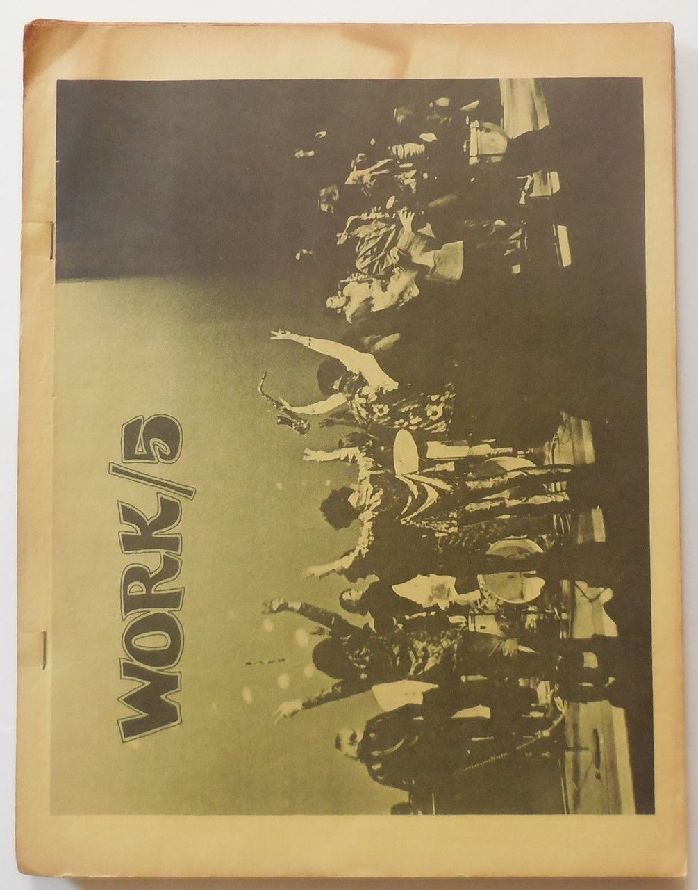 WORK/5, by Trans-Love Energies - 1968 [Ltd Ed]