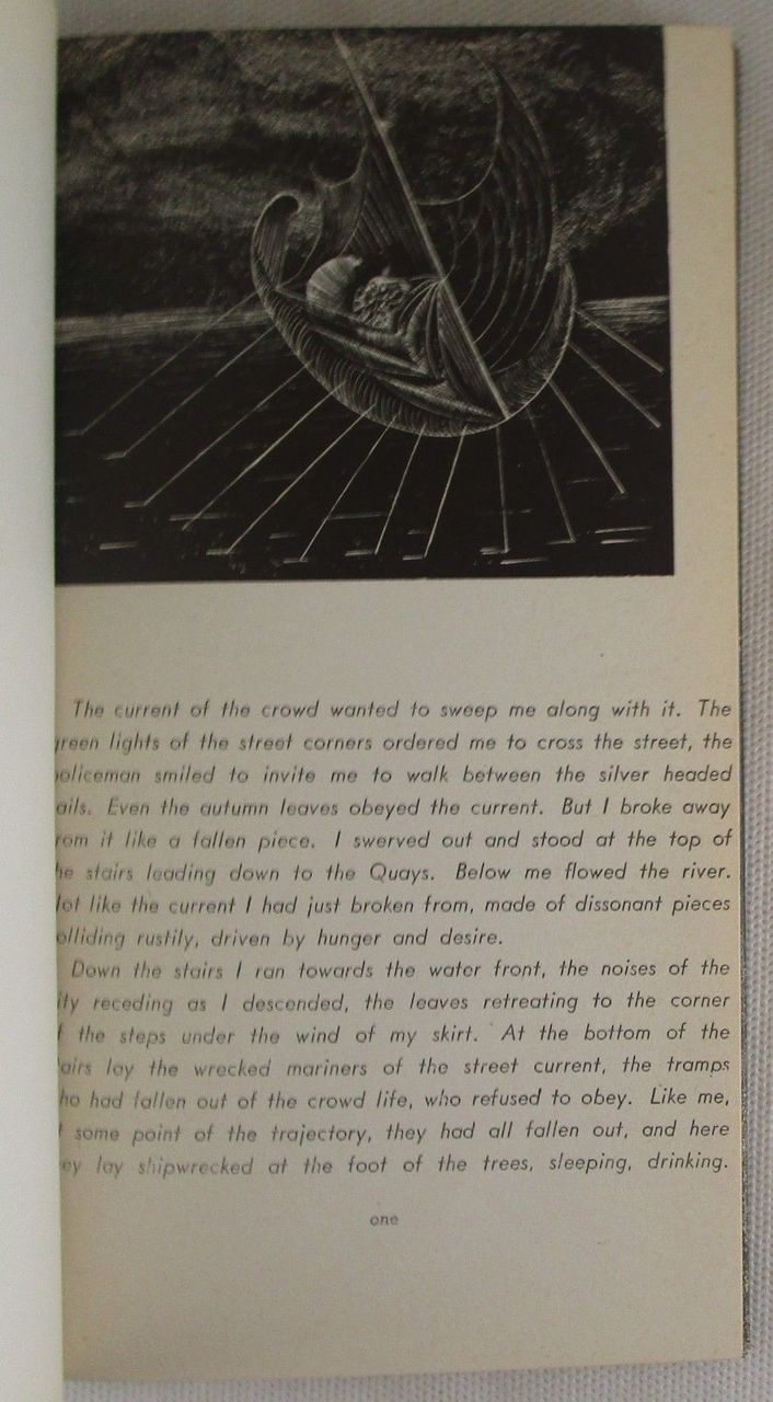 UNDER A GLASS BELL, by Anais Nin; Ian Hugo (illus) - 1944
