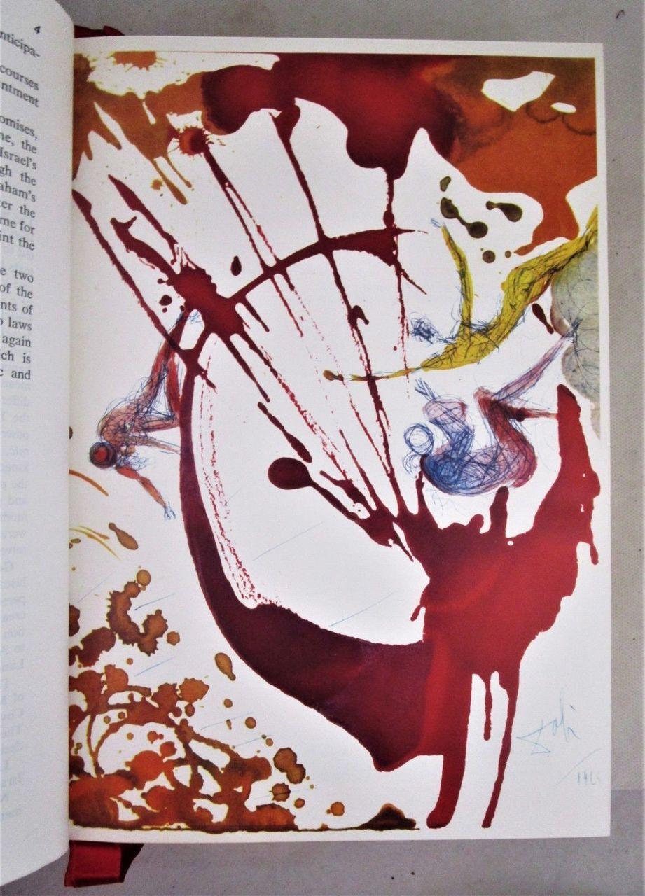 THE JERUSALEM BIBLE, illustrated by Dali - 1970