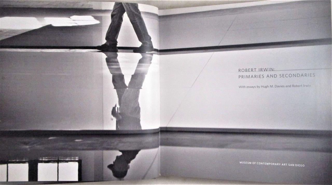 ROBERT IRWIN: PRIMARIES AND SECONDARIES 2008 Exhibition Catalogue DVD MCASD NF-