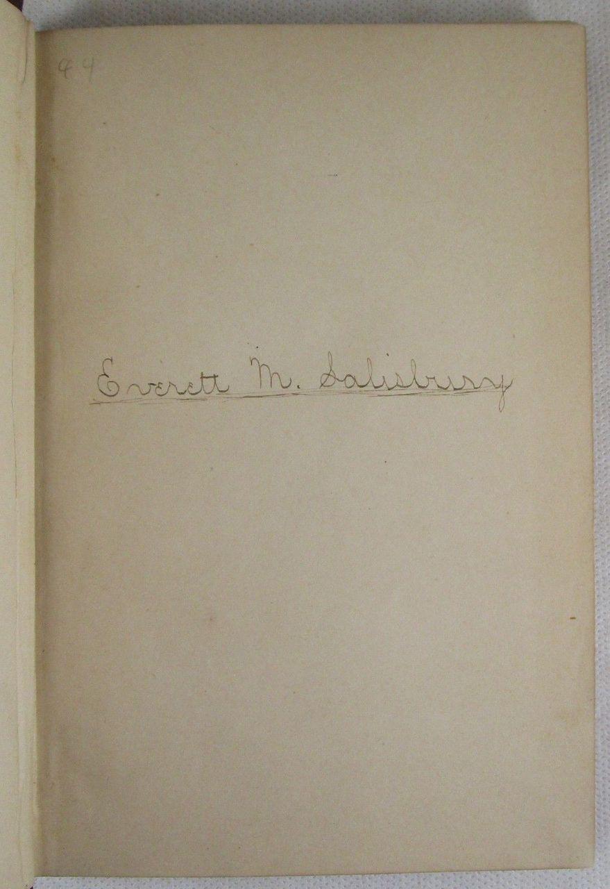 A LITTLE BOOK FOR LITTLE FOLKS - Undated Henry Longstreth Philadelphia Poetry VG