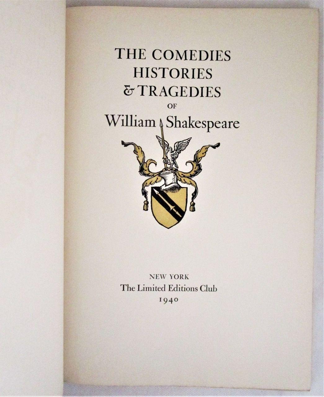 Shakespeare's THE TEMPEST, art by Edward A. Wilson - 1940 [Ltd Ed 905/950]