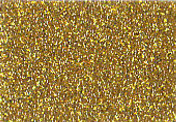 "GlitterFlex Ultra Gold 15"" x 12"" sheet"