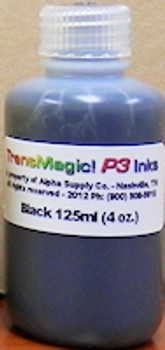 Black TransMagic P3 ink