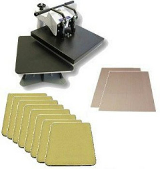 The Tile Master Heat Press set-up (TM-1)
