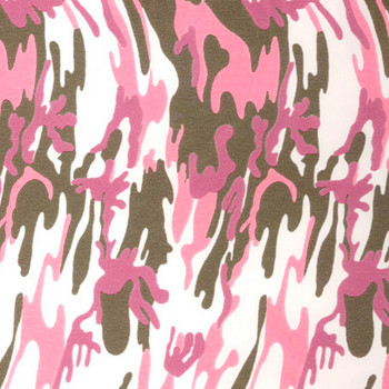 "Fashion Army Pink 15"" x 12"""