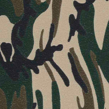 "Fashion Army Camo 15"" x 12"""