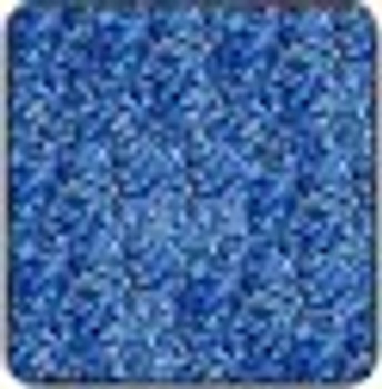 "Metal flake Blue sheet 15"" x 12"""