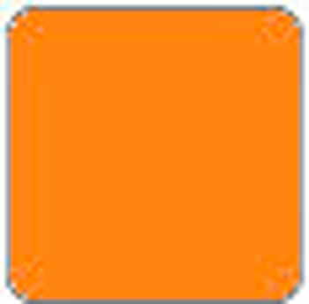 "ThermoFlex PLUS NEON Orange sheet 15"" x 12"""