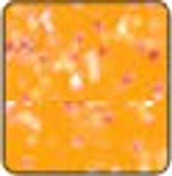 "Metal flake Orange sheet 15"" x 12"""