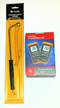 Digital Temperature Meter with Extended temperature probe