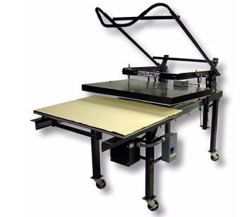 GEO Knight MAXI-Press Large Format Manual Heat Press series