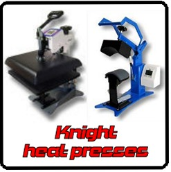 Geo. Knight heat presses