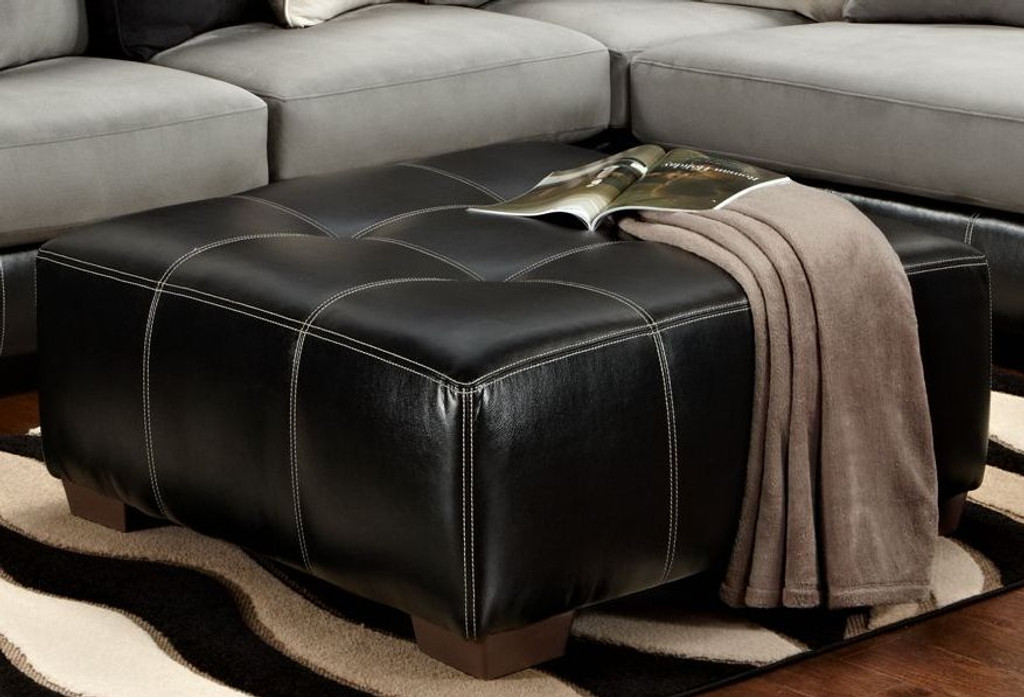 Idol Steel Party Ottoman