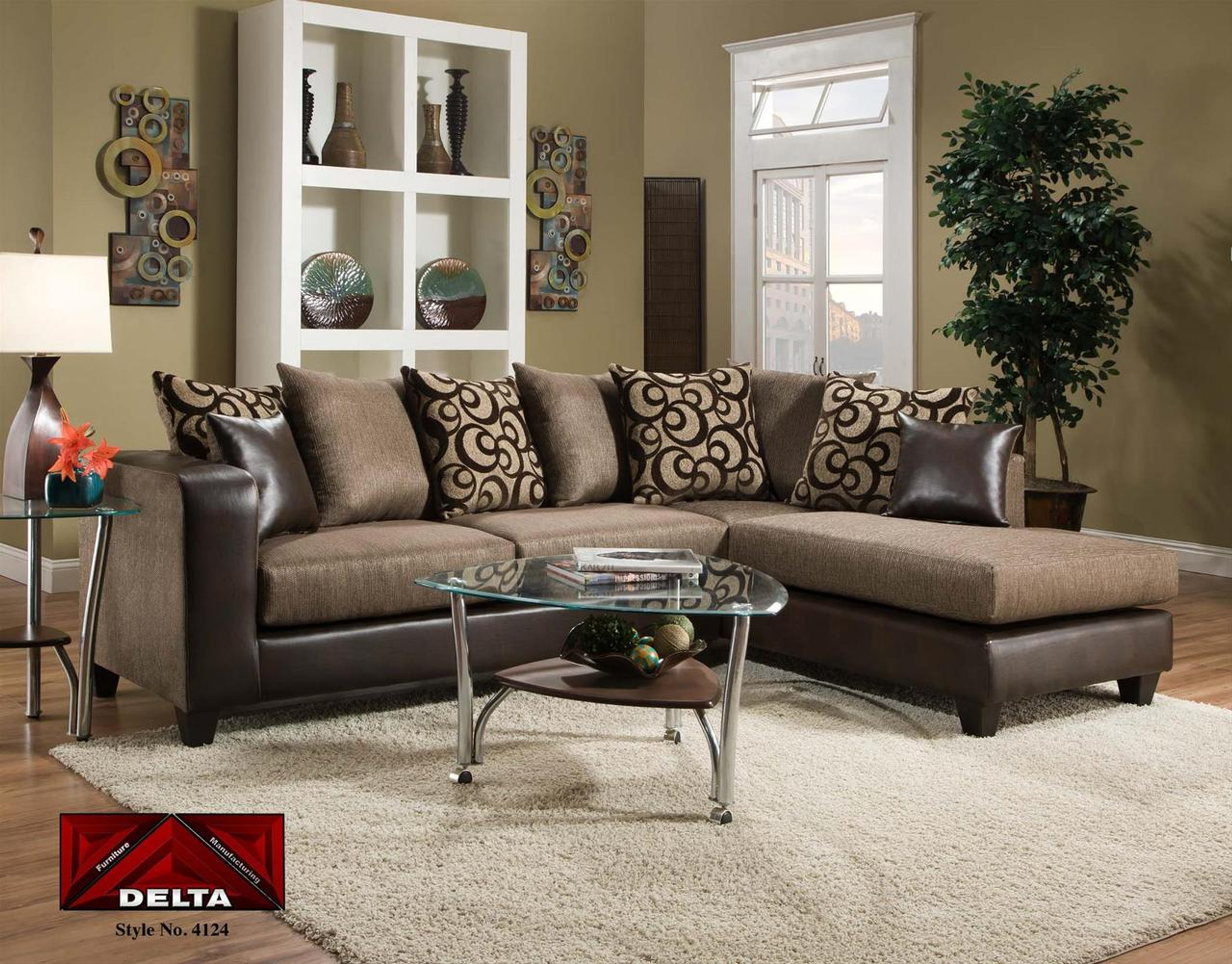 OBJECT ESPRESSO 2PC SECTIONAL