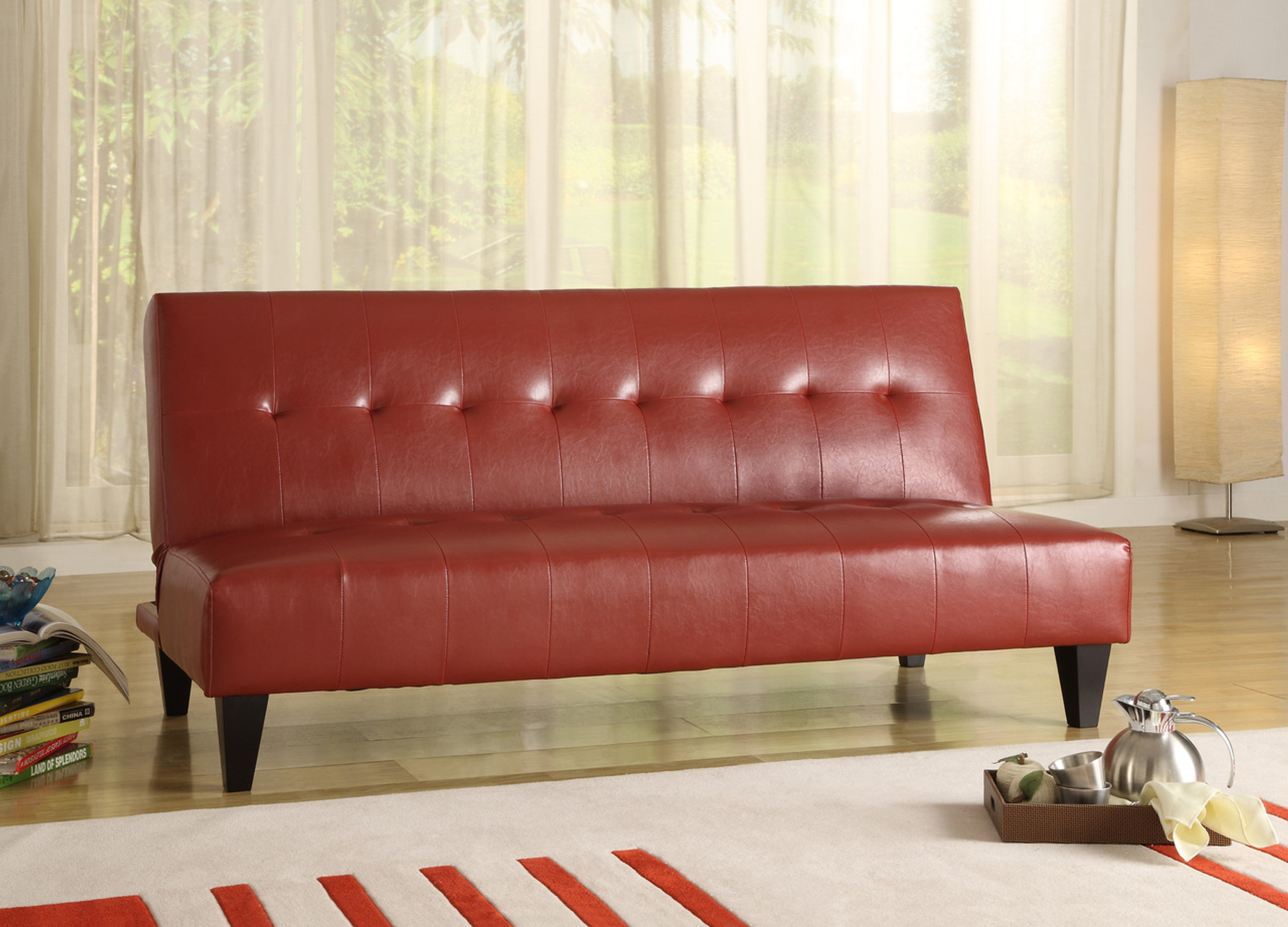 MARCO RED ADJUSTABLE SOFA