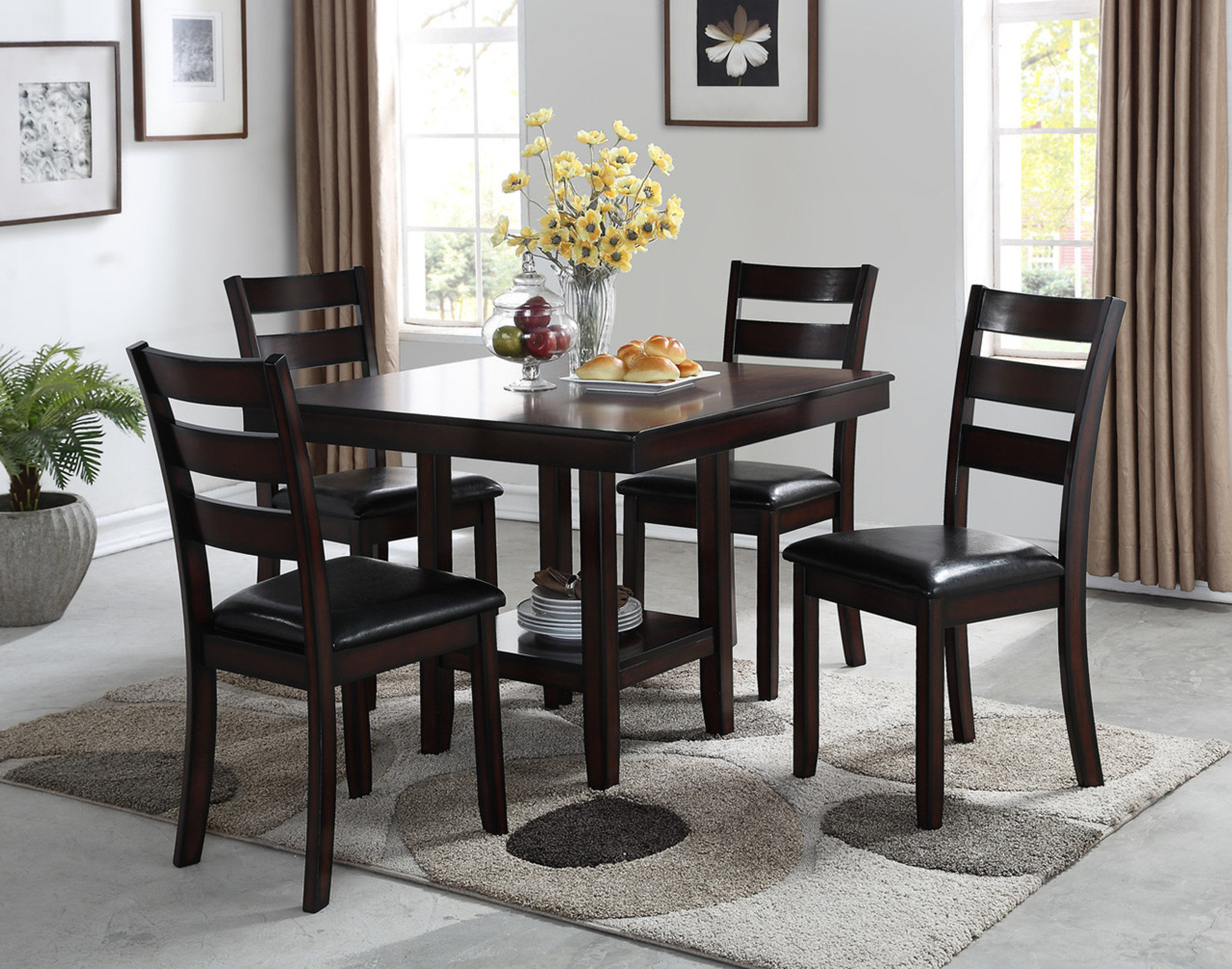 CROMWELL 5PC DINING SET