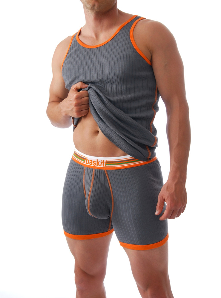 """Perhaps you don't think you're a """"tank man?"""" Trust us… you are! Our tank has a solid fit and a defined style that is sure to please."""