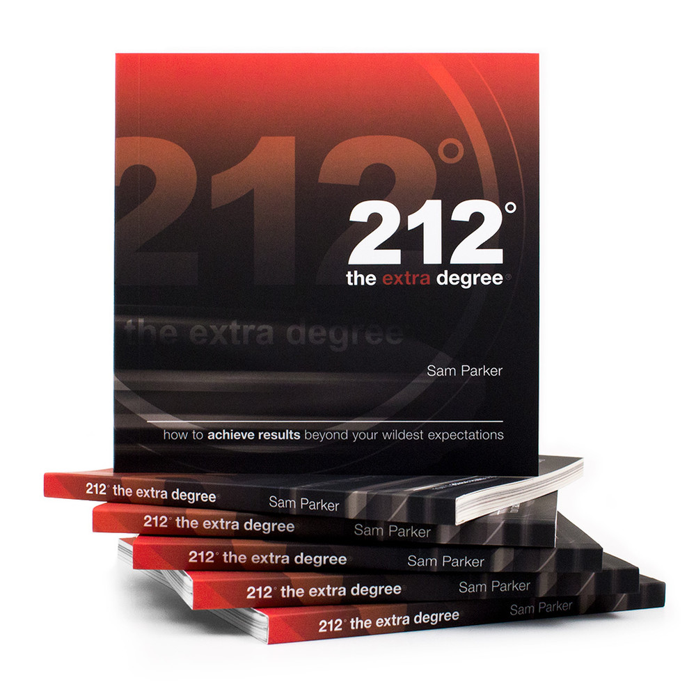 212° the extra degree Book