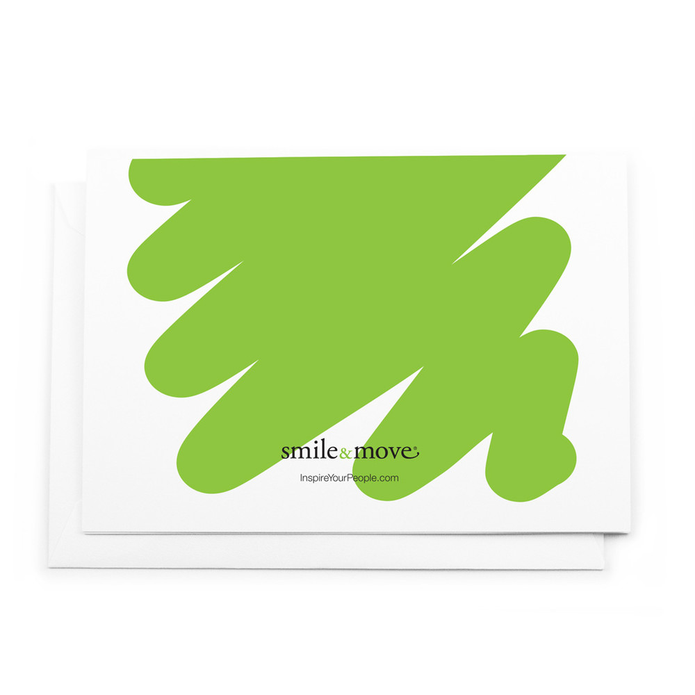 Smile & Move Notecards (Thanks for...)