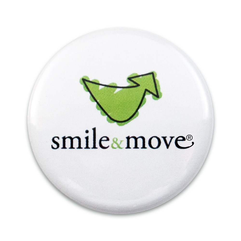 Smile & Move Button