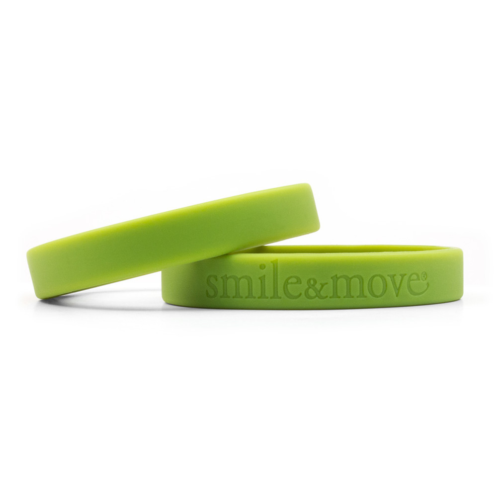 Smile & Move Wristbands (green)