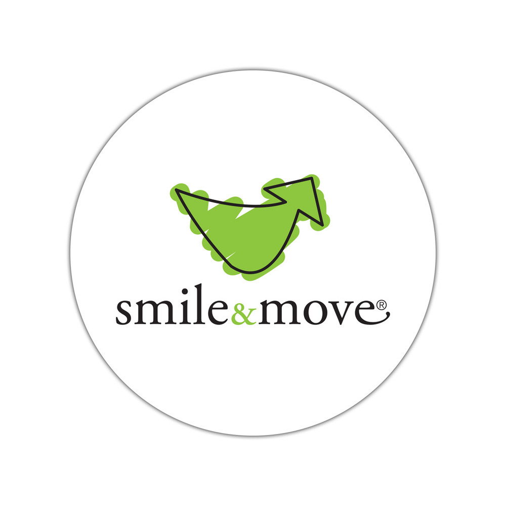 Smile & Move Stickers - small