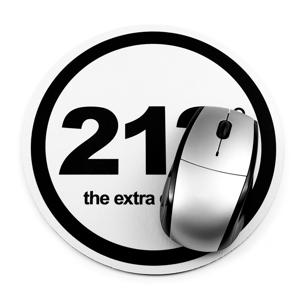 212° Mouse Pad (white)