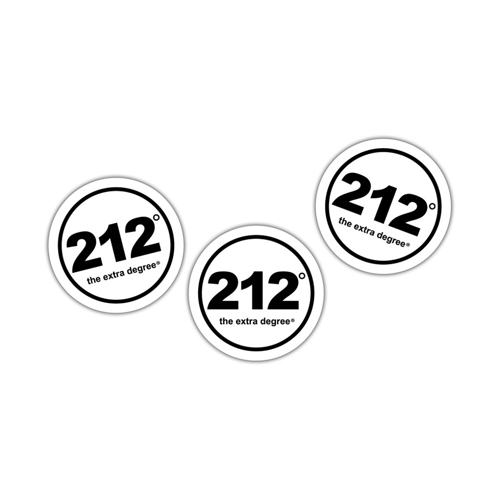 212° Static Cling Decals (official logo)