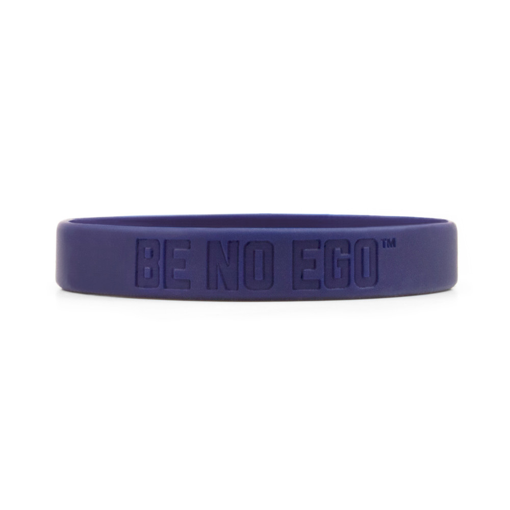 Be No Ego Wristbands (purple)